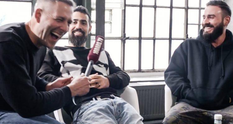 Kay One nackt auf Bushidos Couch // Interview mit Staiger