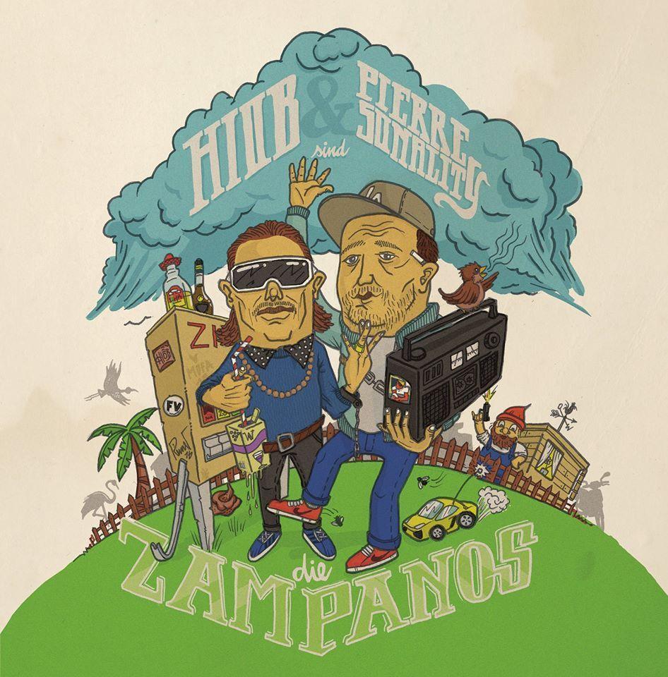 """Hiob & Pierre Sonality """"Die Zampanos"""