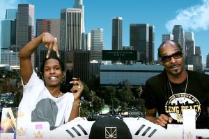 A$AP Rocky x Snoop Dogg