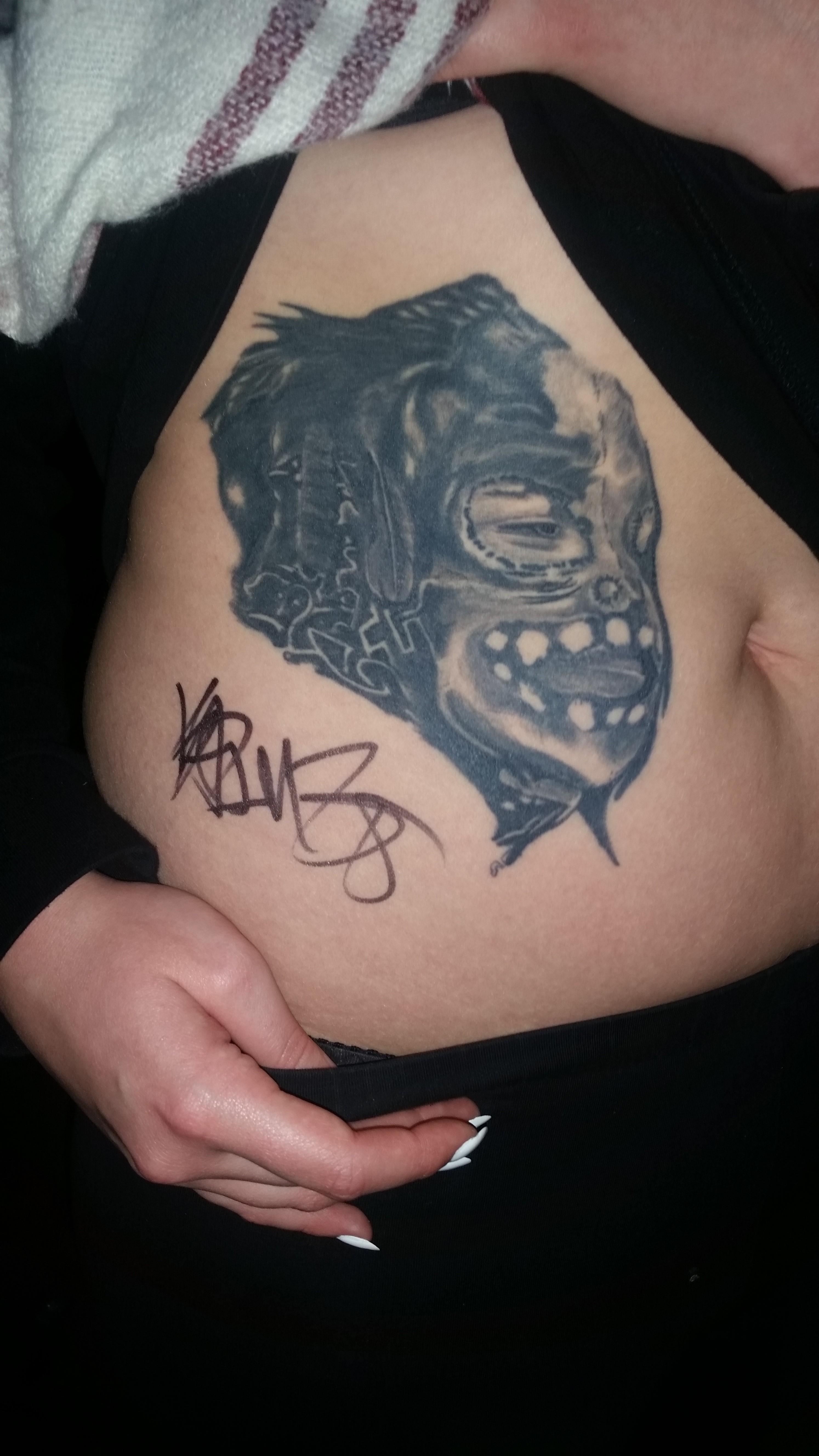 Das geht unter die Haut: Deutschrapfans stellen ihre Tattoos vor ... - Kontra K Tattoos