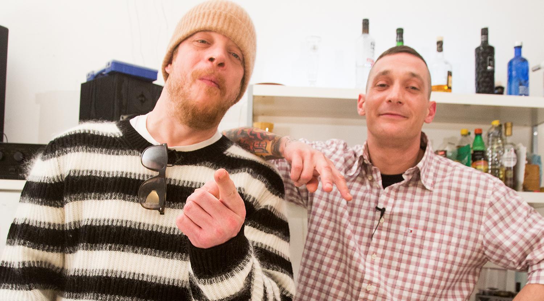 $ick und Ferris MC kochen zusammen // 16BARS.DE