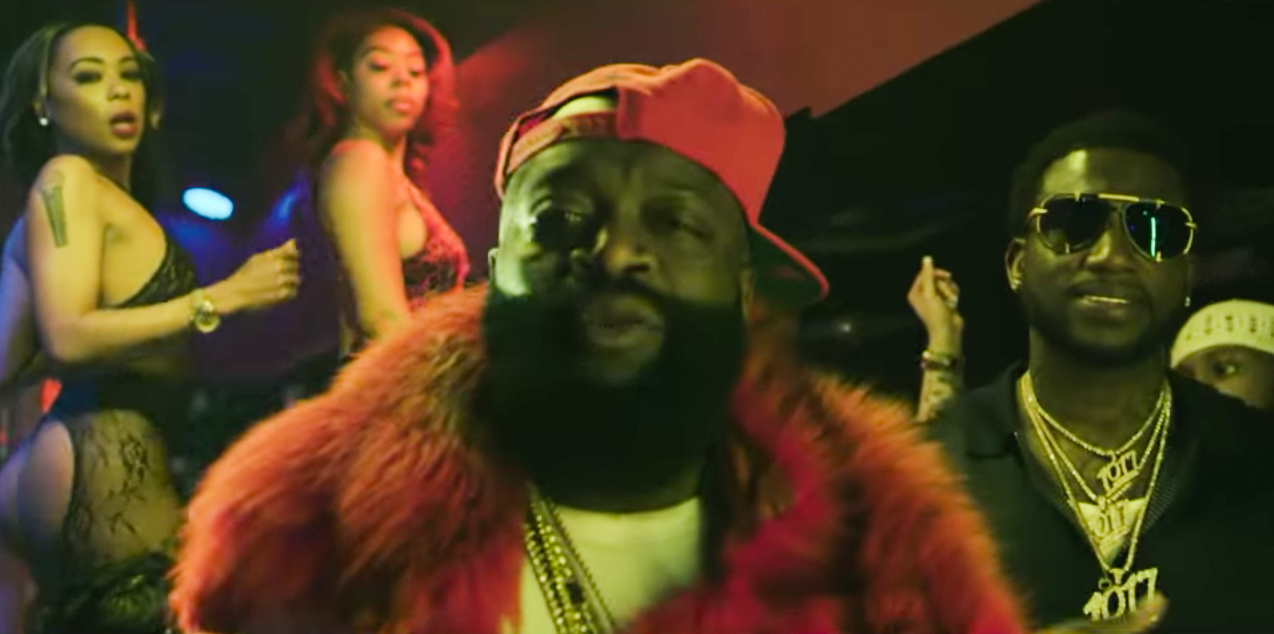 Rick Ross feat. Gucci Mane - She On My Dick | 16BARS.DE