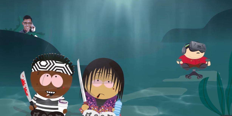 Keith Ape feat. Ski Mask The Slump God - Going Down To Underwater | 16BARS.DE