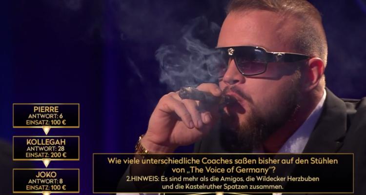 """Rap im TV: Kollegah bei """"Das Duell um die Geld""""   16BARS.DE"""