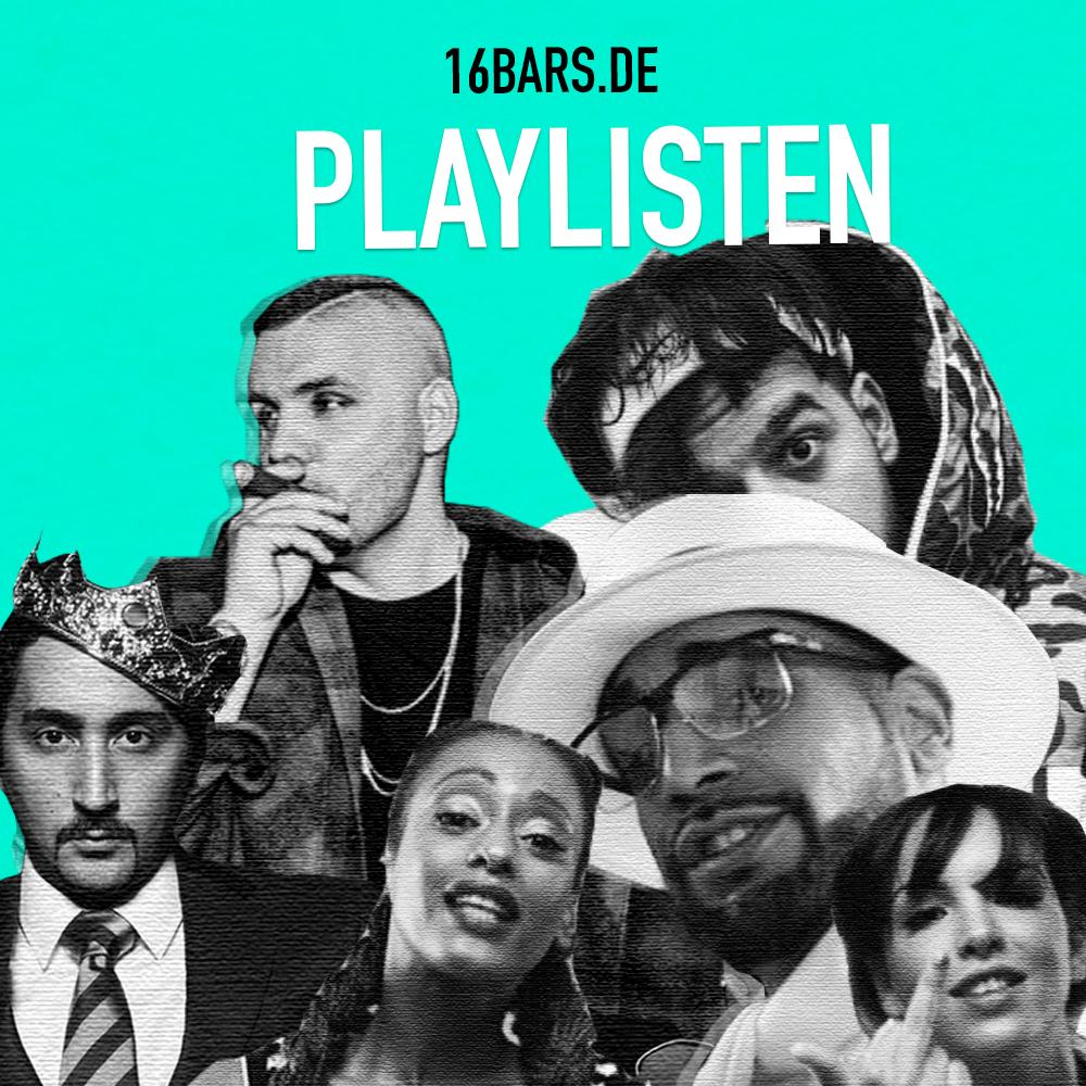 Checkt unsere 16BARS.DE Playlisten auf Spotify und Apple Music | 16BARS.DE