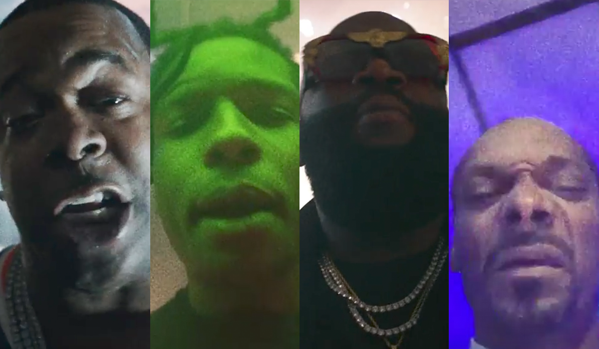 ASAP Ferg feat. ASAP Rocky, Busta Rhymes, Snoop Dogg, French Montana, Dave East & Rick Ross - East Coast (Remix) | 16BARS.DE