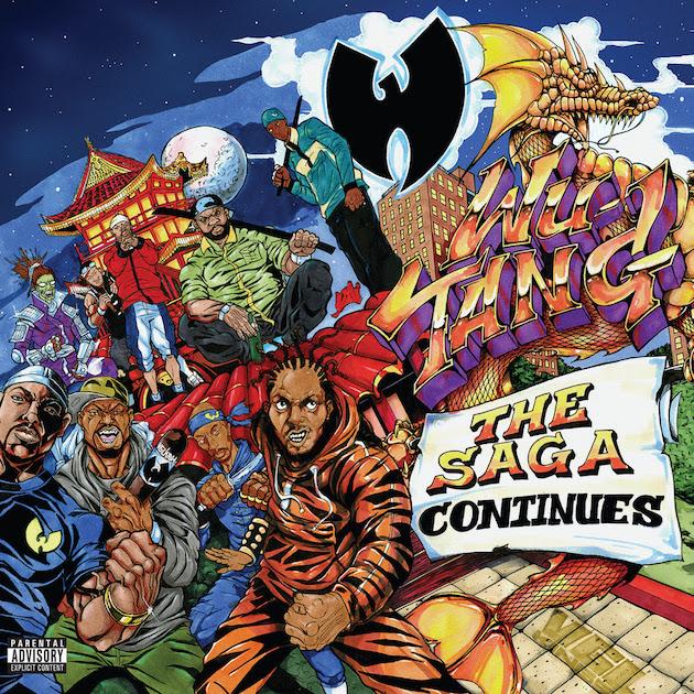 Wu-Tang Clan - The Saga Continues (Album)