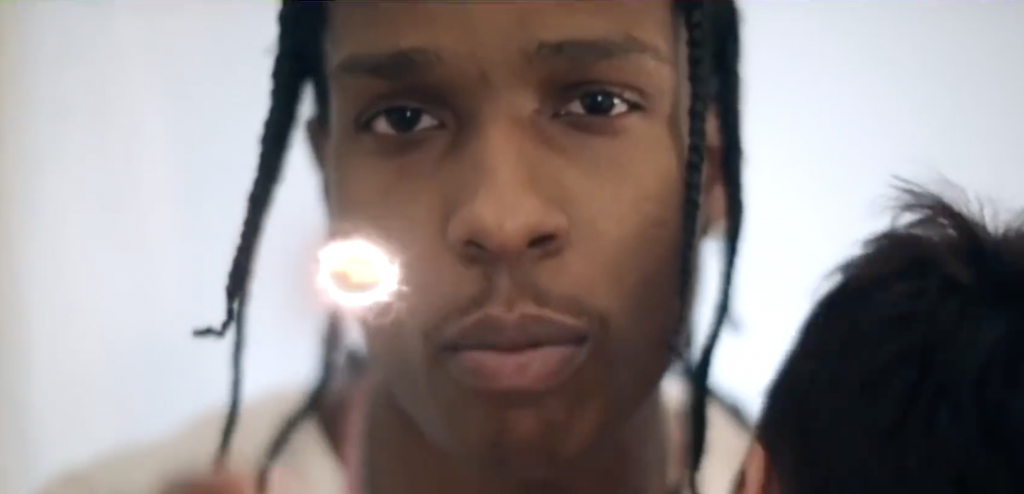Video: A$AP Rocky - Money Bags Freestyle