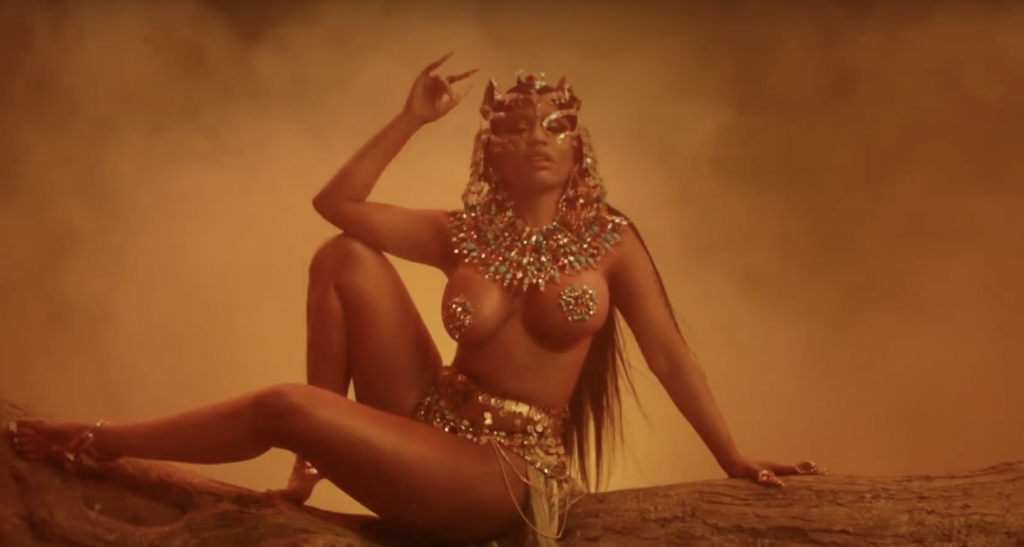 Video: Nicki Minaj - Ganja Burn