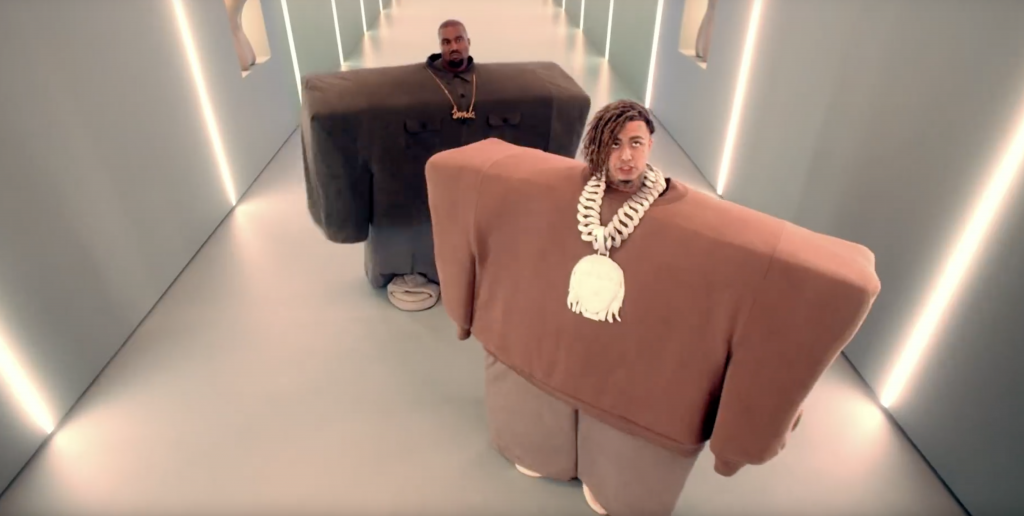 Video: Kanye West feat. Lil Pump - I Love It