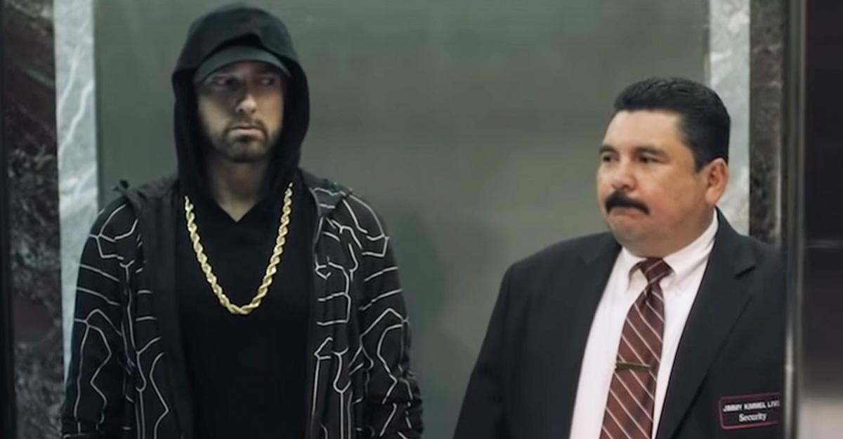 Video: Eminem - Venom (Live auf dem Empire State Building)