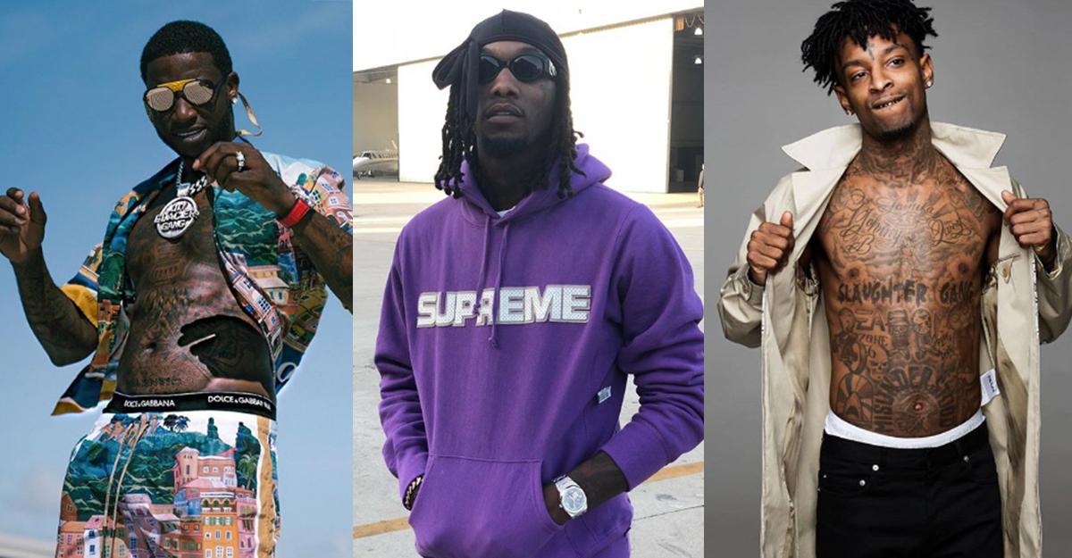 Neue Alben von Gucci Mane, 21 Savage und Offset angekündigt