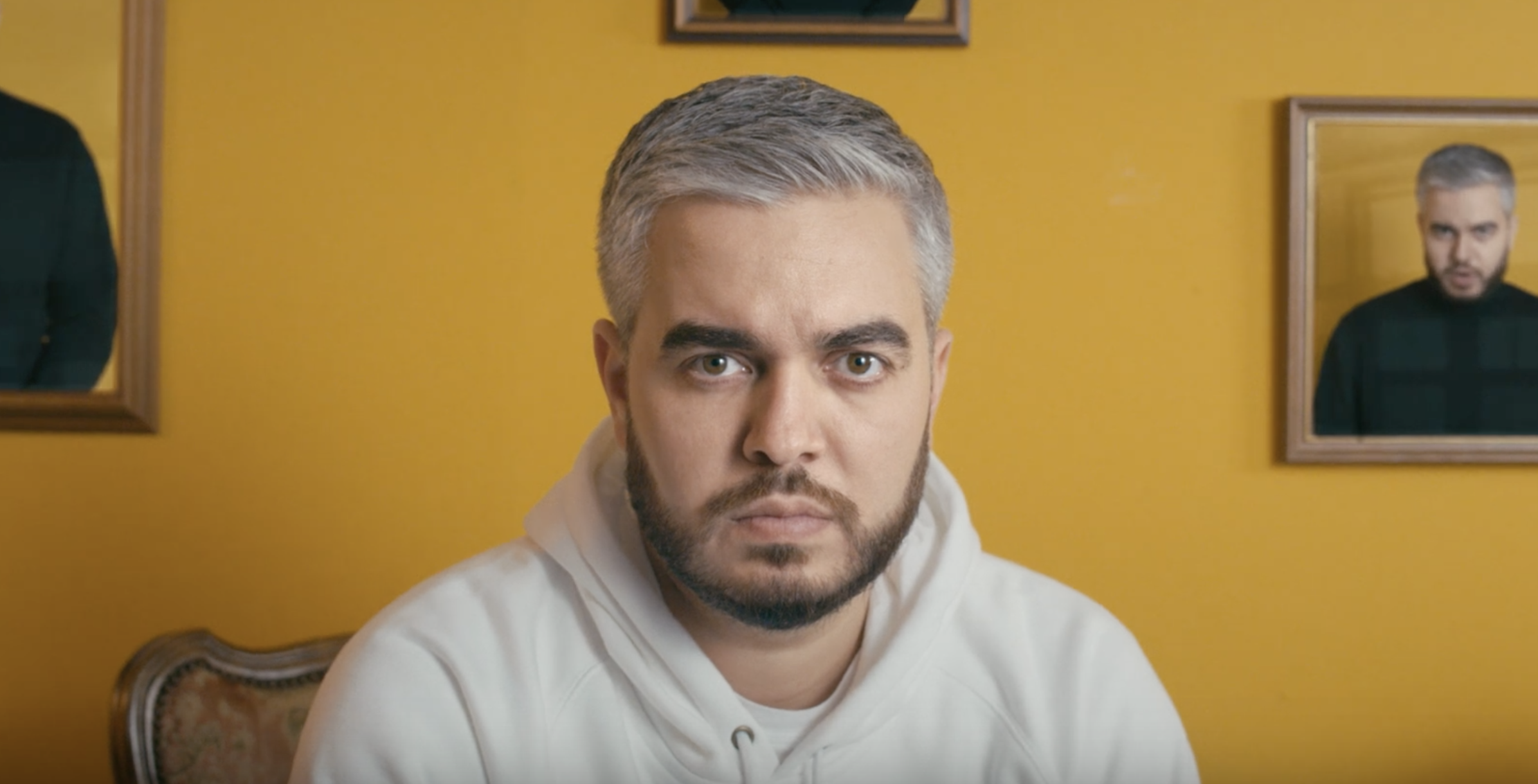 Haare Grau