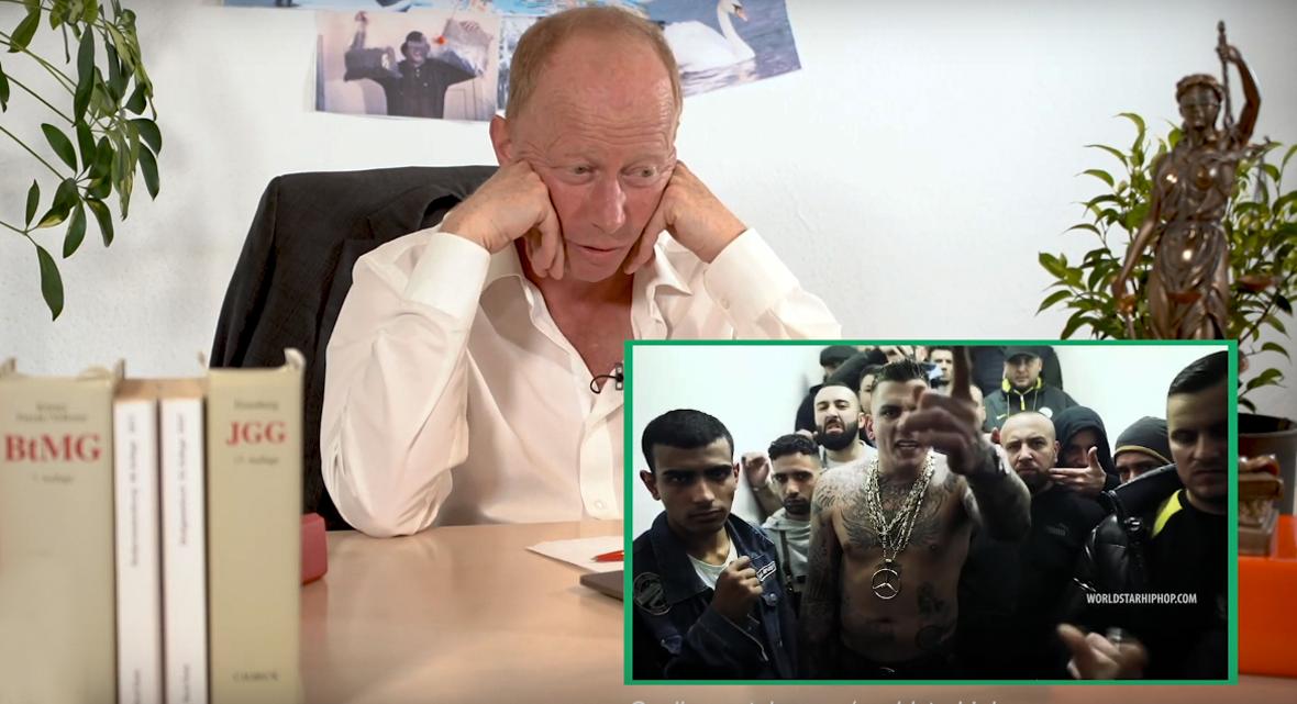 Gzuz auf der Anklagebank: Richter Andreas Müller urteilt | 16BARS.DE