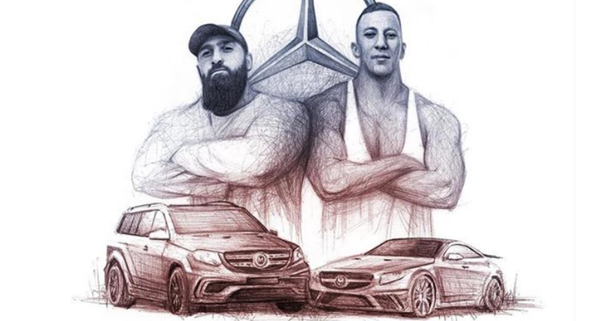 Sinan-G & Farid Bang - Mansory Benz | 16BARS.DE