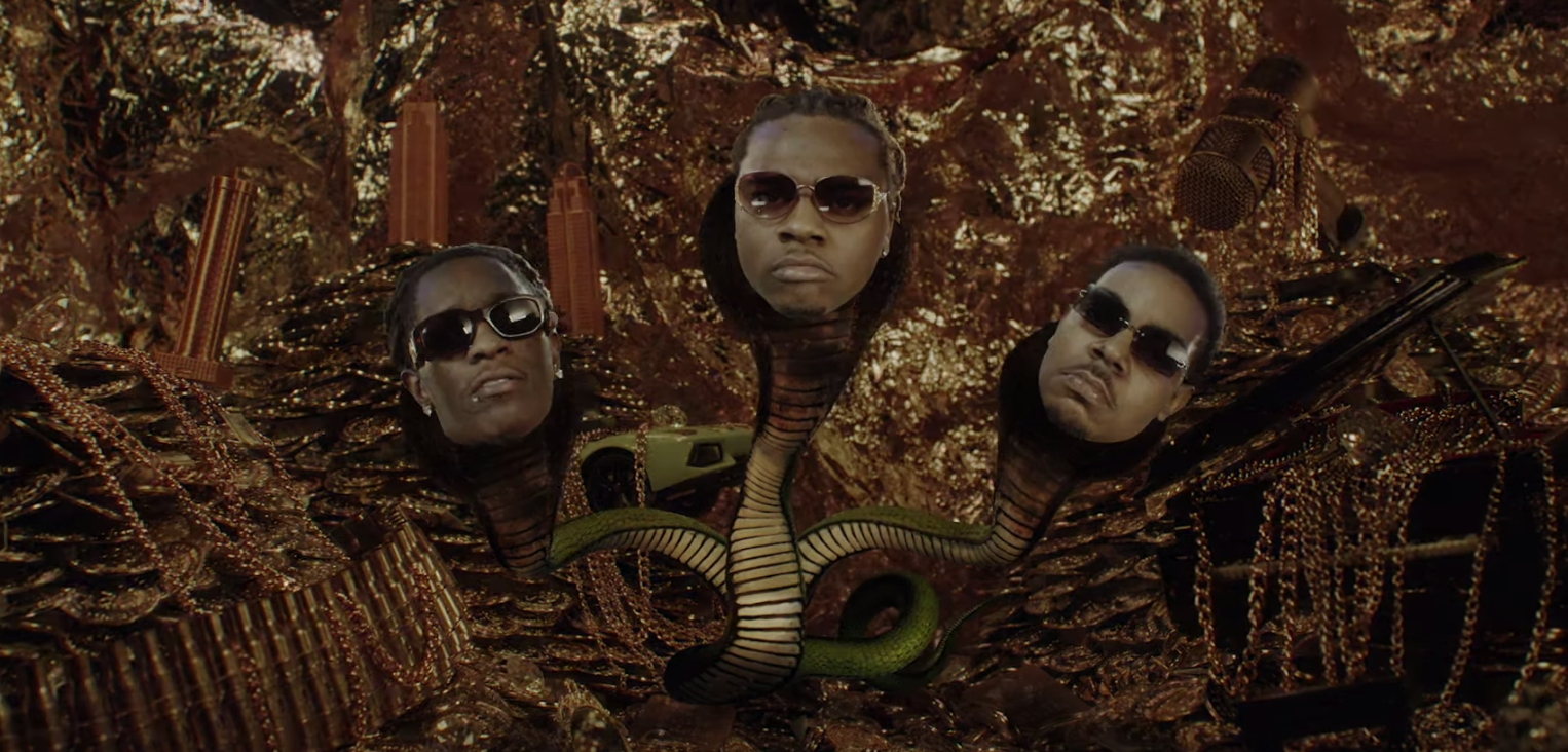 Gunna feat. Young Thug - Three Headed Snake (Video) | 16BARS