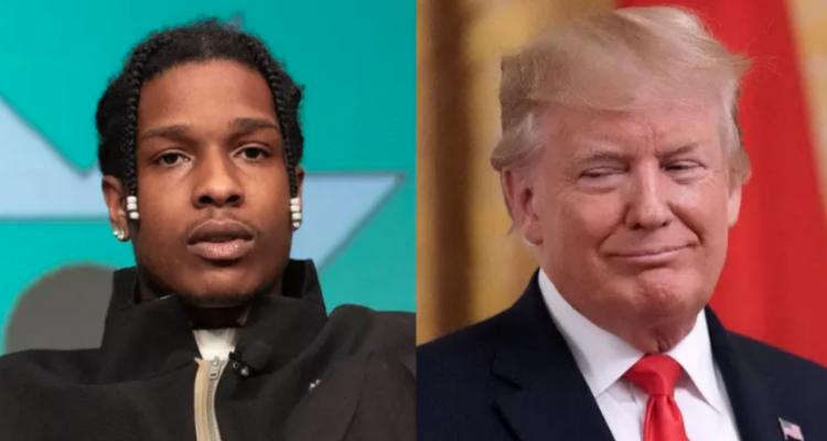 A$AP Rocky Donald Trump