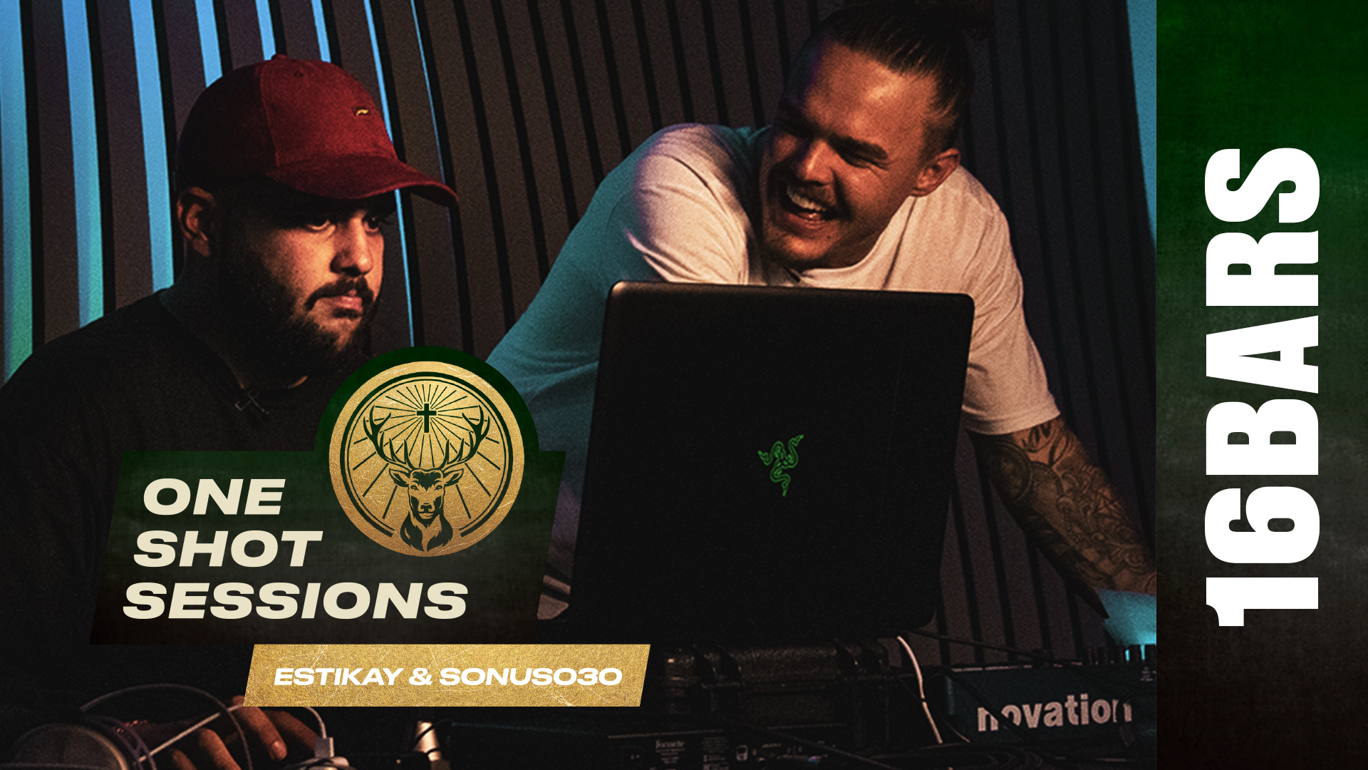 Estikay & Sonus030: Song + Video in 6 Stunden | One Shot Sessions by Jägermeister
