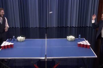 post malone beer pong