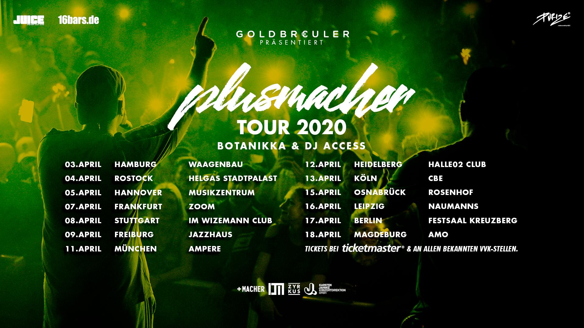 Plusmacher Tour