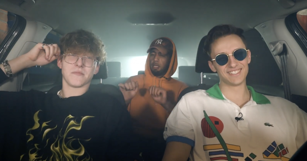 Hotbox mit Edo Saiya, Kid Cairo und Marvin Game | 16BARS