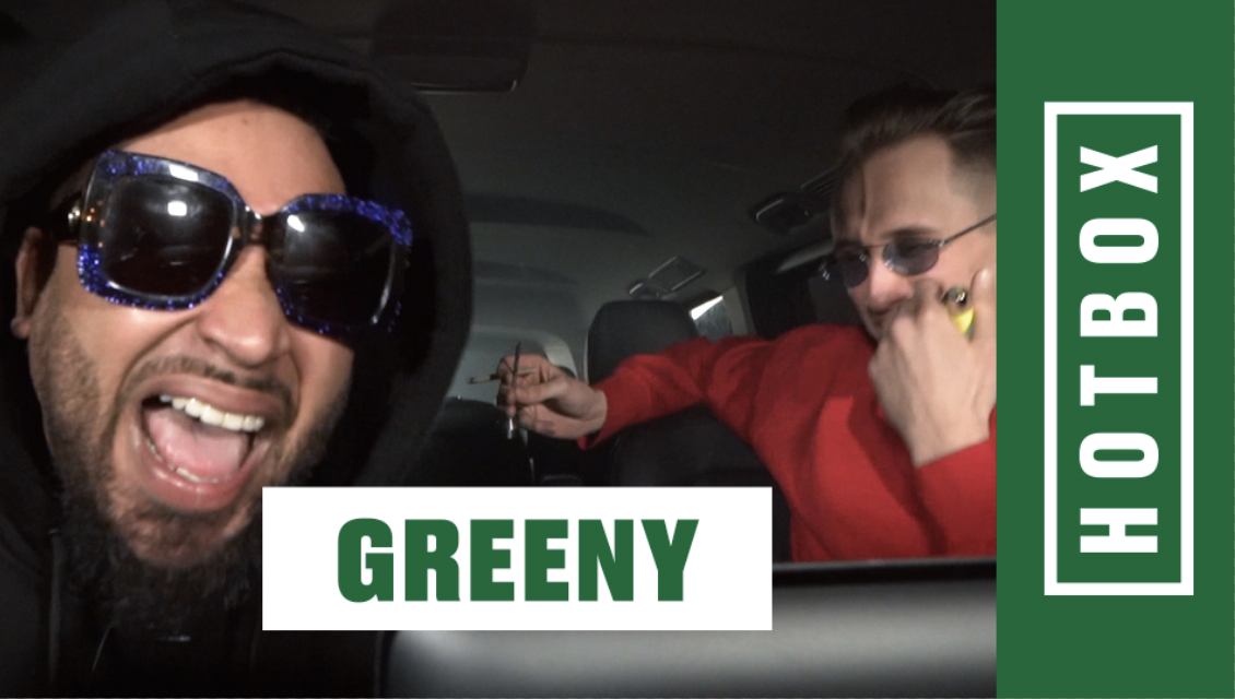 Hotbox mit Greeny und Marvin Game | 16BARS
