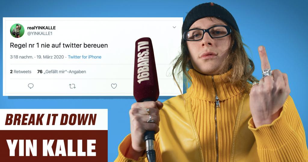 Yin Kalle erklärt seinen Twitter Account |16BARS