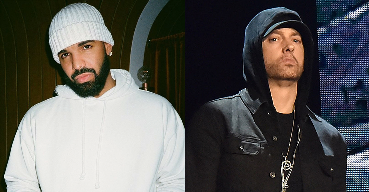 "Drake covert ""Superman"" von Eminem auf ""Chicago Freestyle"" 