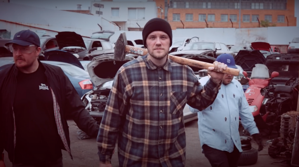 Juse Ju feat. Panik Panzer & Bonzi Stolle - ICH HASSE AUTOS | 16BARS