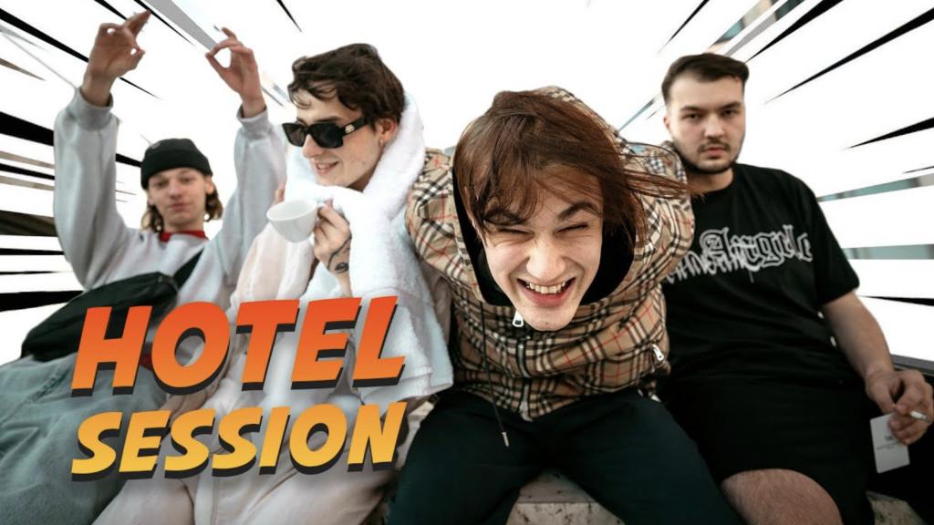 Hotel Session w/ Sin Davis, Makko, toobrokeforfiji & Overshiaat|16BARS